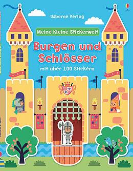 Meine kleine Stickerwelt: Burgen und Schlösser [Version allemande]