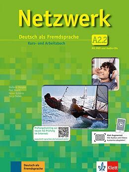Netzwerk / Kurs- und Arbeitsbuch A2, Teilband 2 mit 2 Audio-CDs und DVD [Version allemande]