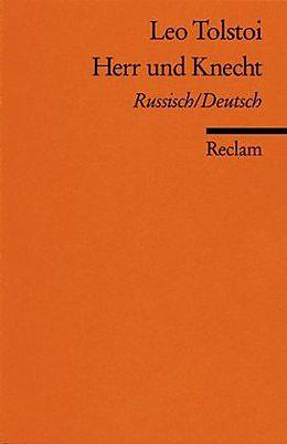 Herr und Knecht [Version allemande]