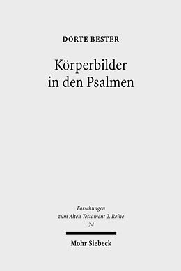 Körperbilder in den Psalmen [Version allemande]