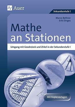 Mathe an Stationen, Umgang mit Geodreieck & Zirkel [Version allemande]