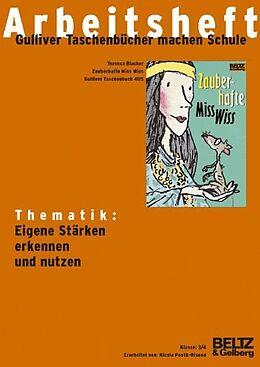 Zauberhafte Miss Wiss - Arbeitsheft [Version allemande]