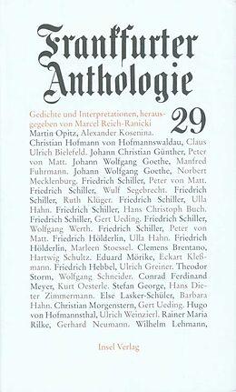 Frankfurter Anthologie [Versione tedesca]