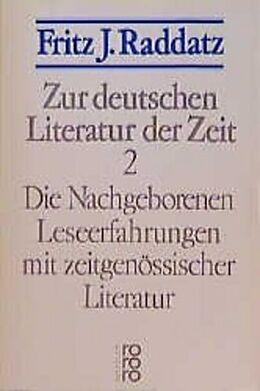 Die Nachgeborenen [Version allemande]