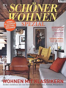sch ner wohnen design klassiker 1 2015 buch kaufen. Black Bedroom Furniture Sets. Home Design Ideas