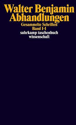 Gesammelte Schriften 1. Abhandlungen [Version allemande]
