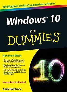 Windows 10 für Dummies [Version allemande]