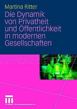 Die Dynamik von Privatheit und Öffentlichkeit [Versione tedesca]