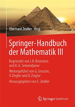 Springer-Handbuch der Mathematik III [Versione tedesca]