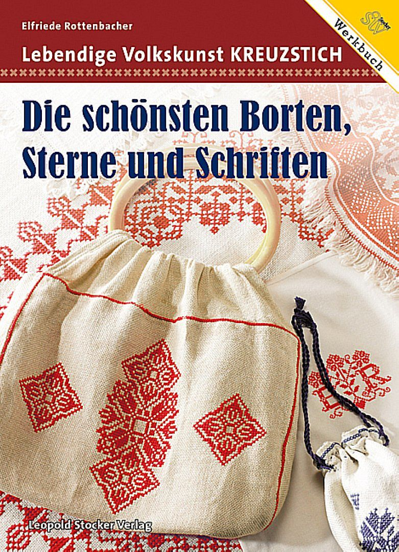 Lebendige Volkskunst Kreuzstich - Elfriede Rottenbacher - Buch ...