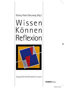 Wissen-Können-Reflektion [Versione tedesca]