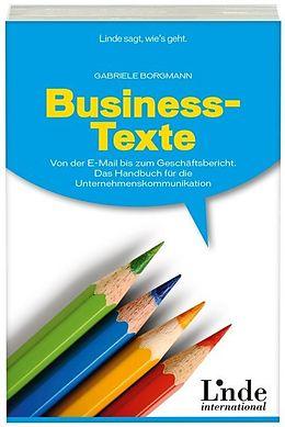 Business-Texte [Versione tedesca]