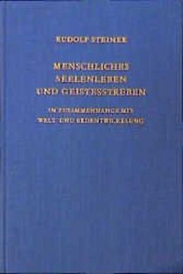 Menschliches Seelenleben und Geistesstreben [Versione tedesca]