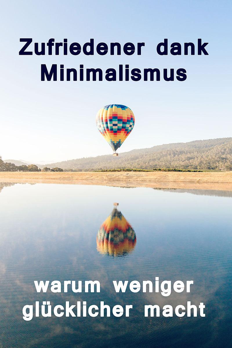 Zufriedener dank minimalismus warum weniger gl cklicher for Ratgeber minimalismus