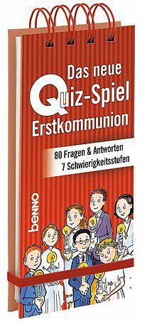 Das neue Quiz Spiel: Erstkommunion [Versione tedesca]