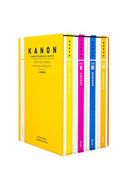 Kanon Kunstgeschichte 1-4. Einführung in Werke, Methoden und Epochen [Versione tedesca]