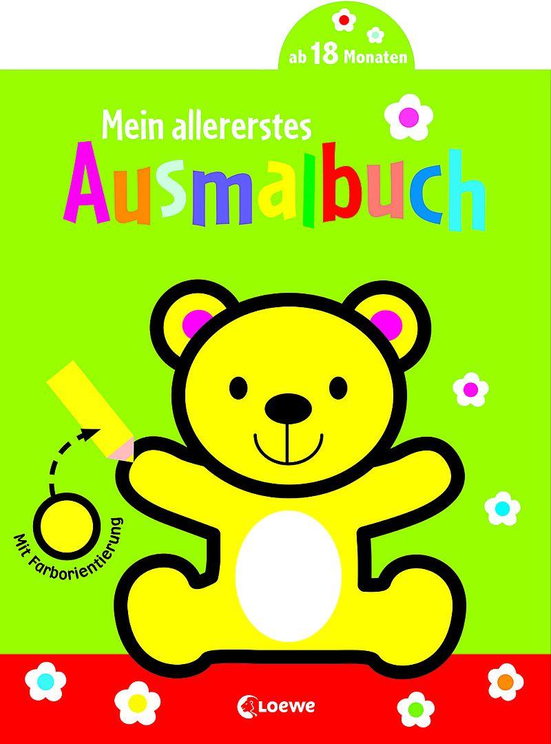 Mein allererstes Ausmalbuch Bär - - Buch kaufen | exlibris.ch