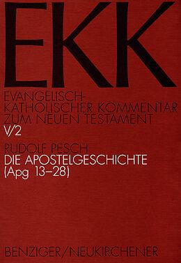 Die Apostelgeschichte, EKK V/2 [Versione tedesca]