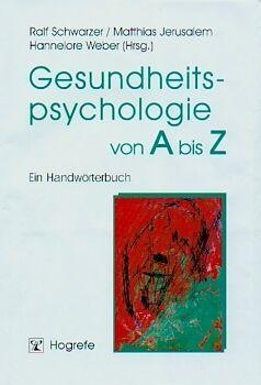 Gesundheitspsychologie von A bis Z [Version allemande]