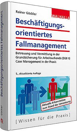 Göckler beschäftigungsorientiertes fallmanagement rainer göckler buch