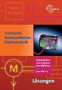 Technische Kommunikation Elektrotechnik. Lösungen