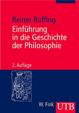 Einführung in die Geschichte der Philosophie [Versione tedesca]