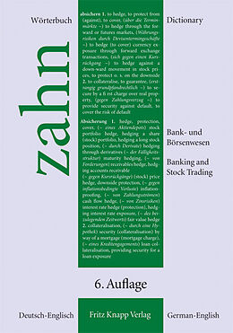 Wörterbuch für das Bank- und Börsenwesen [Versione tedesca]