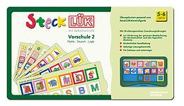 SteckLÜK. Vorschule mix 2 Mathe - Deutsch - Logik: Alter 5 - 6 (grün) [Version allemande]