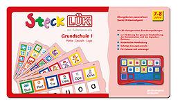 SteckLÜK. Grundschule mix 1 Mathe - Deutsch - Logik: Alter 7 - 8 (rot) [Version allemande]