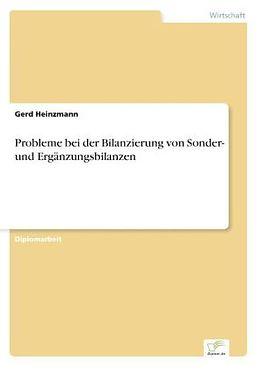 probleme bei der bilanzierung von sonder und ergnzungsbilanzen gerd heinzmann - Erganzungsbilanz Beispiel