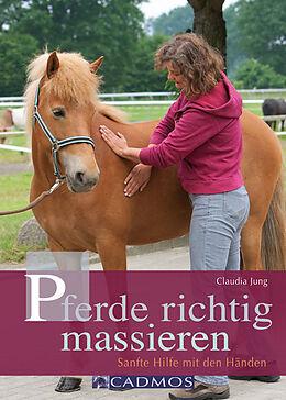 Pferde richtig massieren [Version allemande]