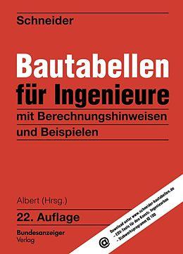Bautabellen für Ingenieure [Version allemande]