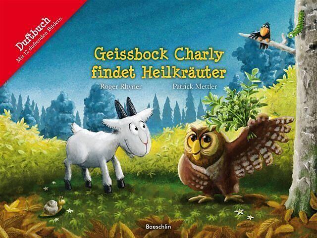 Geissbock Charly findet Heilkräuter Cover