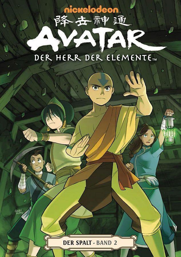 Avatar Der Herr Der Elemente Spiel