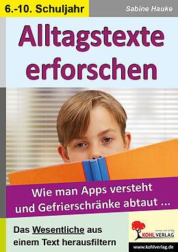 Alltagstexte erforschen [Version allemande]