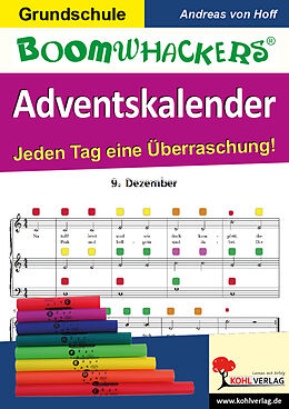 Boomwhackers-Adventskalender