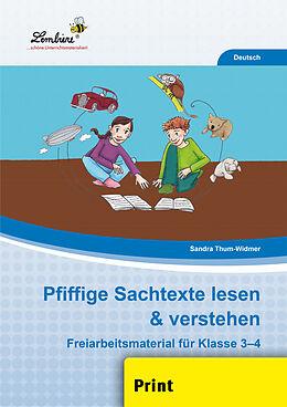 Pfiffige Sachtexte lesen & verstehen (PR) [Versione tedesca]
