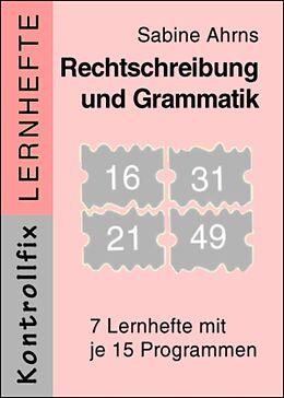 Kontrollfix Lernhefte Serie 2. Rechtschreibung / Grammatik. Lesen durch Schreiben A2k [Version allemande]