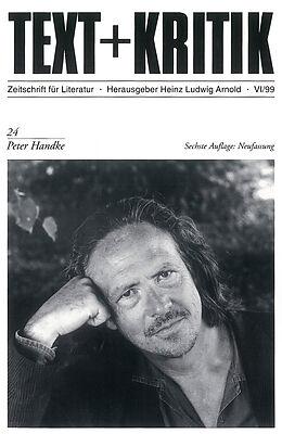 Peter Handke [Versione tedesca]
