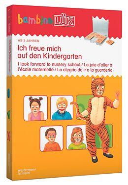 bambinoLÜK-Set. Ich freue mich auf den Kindergarten: ab 3 Jahren [Version allemande]