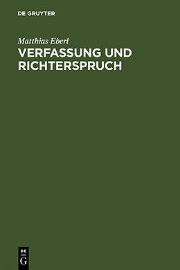 Verfassung und Richterspruch [Versione tedesca]