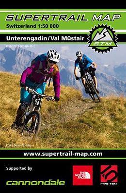 Supertrail Map Unterengadin / Val Müstair 50000 [Versione tedesca]
