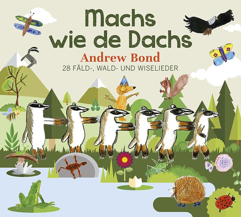 Machs wie de Dachs (CD) Cover
