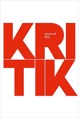 testcard #25: Kritik [Version allemande]