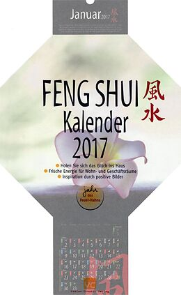feng shui kalender 2017 buch kaufen. Black Bedroom Furniture Sets. Home Design Ideas