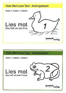 Lies mal! Hefte 1 und 2 [Version allemande]