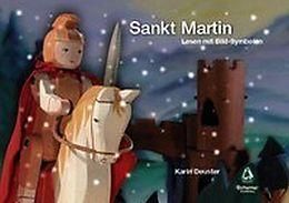 Sankt Martin - Lesen mit Bild-Symbolen
