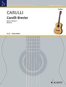 Carulli-Brevier [Versione tedesca]