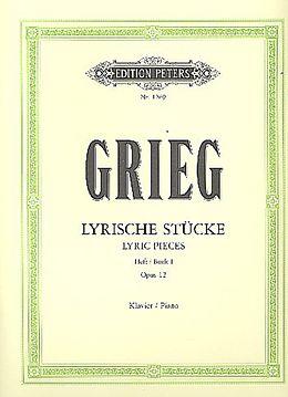Lyrische Stücke op. 12 [Version allemande]