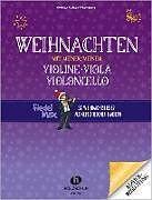 Weihnachten mit meiner/meinem Violine, Viola, Vc [Versione tedesca]